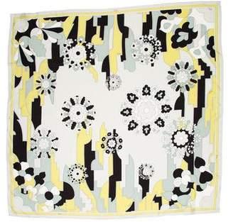 Emilio Pucci Silk Printed Square Scarf