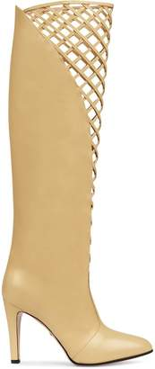 Gucci Cutout leather boot