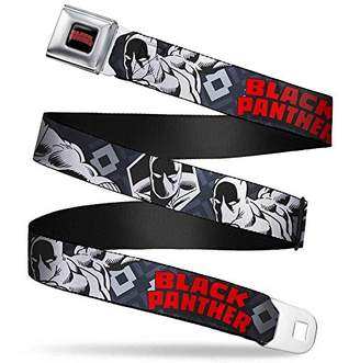 """Buckle-Down Men's Seatbelt Belt 1.5"""" W"""