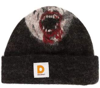 Doublet graphic beanie hat