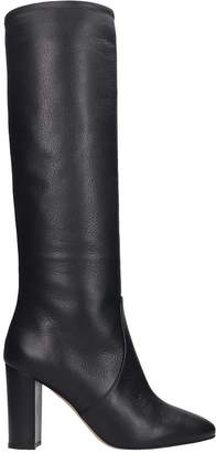The Seller Boots In Black Leather