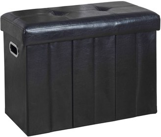 """Simplify Collapsible Bench/Hamper Ottoman, 25"""" x 12"""""""