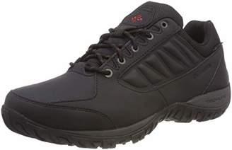 Sorel COLUMBIA Men's Hiking Shoes, RUCKEL RIDGE Waterproof, Black (Black, Rusty), Size: 11