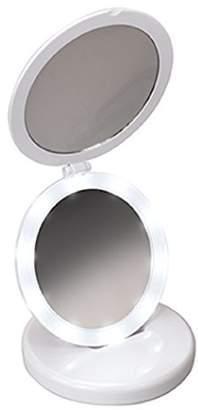 Harry D. Koenig Tri-Fold LED Round Mirror Diameter
