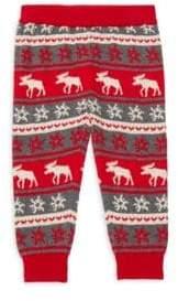 Hatley Baby Boy's Fair Isle Moose Sweatpants