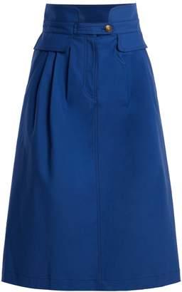 Sea Kamille stretch cotton skirt