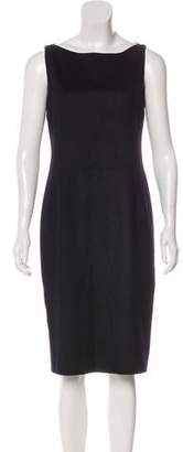Akris Punto Wool Knee-Length Dress
