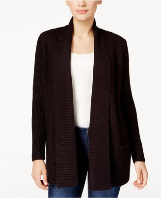Karen Scott Marled Ribbed Pocket Cardigan, Only at Macy's $49.50 thestylecure.com
