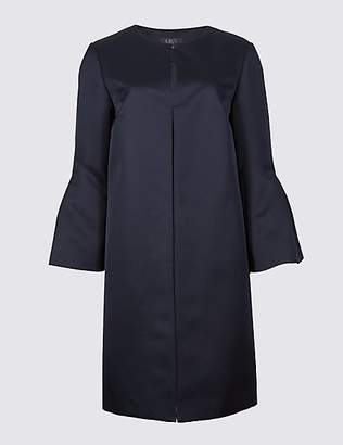M&S Collection Bell Sleeve Coat