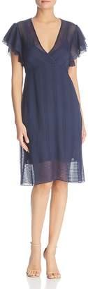 Tory Burch Madison Silk Flutter Dress