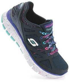 Skechers Relaxed Fit S Flex Fashion Play Girls' Athletic Shoes $59.99 thestylecure.com