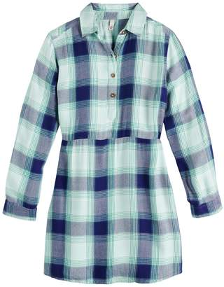 So Girls 7-20 & Plus Size SO Cinched Shirtdress