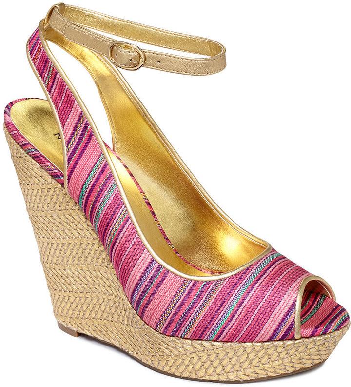 Nine West Shoes, Karmic Platform Wedge Sandals