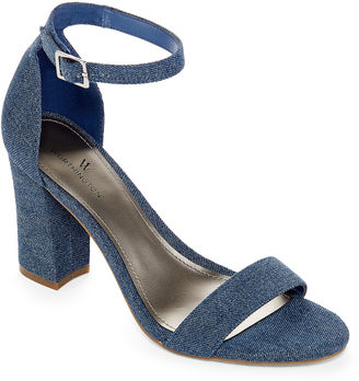 WORTHINGTON Worthington Beckwith Womens Heeled Sandals $55 thestylecure.com