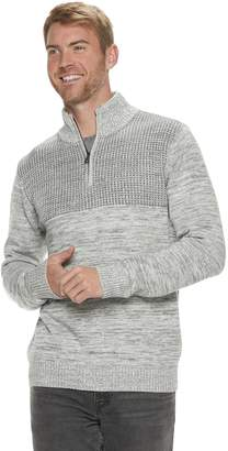 Method Products Men's Regular-Fit Mockneck Quarter-Zip Sweater