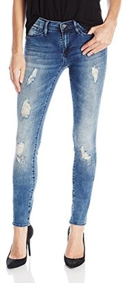 Buffalo David Bitton Women's Faith Skinny In Whitewater Wash $62.89 thestylecure.com