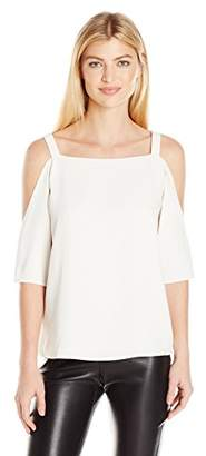Cooper & Ella Women's Zoe Cold Shoulder Top