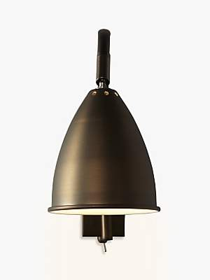 49c81ae751ce John Lewis & Partners Chelsea Adjustable Wall Light, Bronze