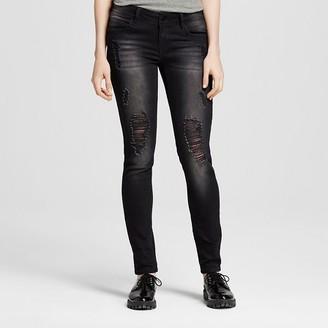 Dollhouse Women's Destructed Skinny Jeans - Dollhouse (Juniors') $32.99 thestylecure.com