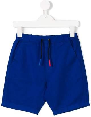 Burberry Drawcord Cotton Linen Twill Shorts