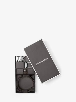 Michael Kors Four-In-One Logo Belt Box Set