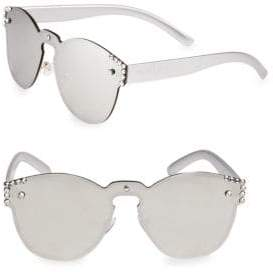 Cat Eye Bari Lynn Studded Cat-Eye Sunglasses