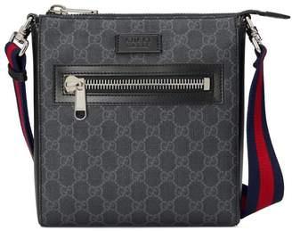 Gucci GG Black small messenger bag