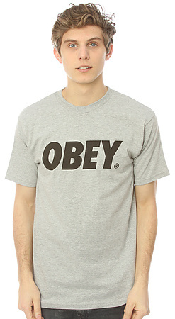 Obey The Font Tee