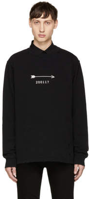 Givenchy Black Arrow and Show Date Sweatshirt