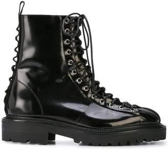 Yang Li lace-up boots
