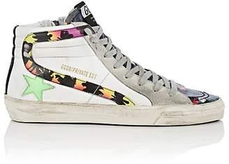 """Golden Goose Women's """"Slide"""" Leather Sneakers"""