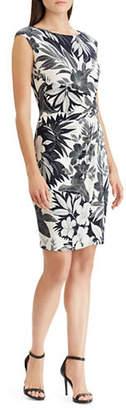 Chaps Dafina Printed Sheath Dress