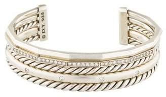 David Yurman Diamond Stax Narrow Bracelet