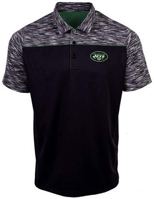 Authentic Nfl Apparel Men's New York Jets Final Play Polo