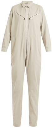 Rachel Comey Riot long-sleeved cotton-corduroy jumpsuit