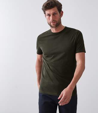 Reiss BLESS CREW NECK T-SHIRT Oxidised Green