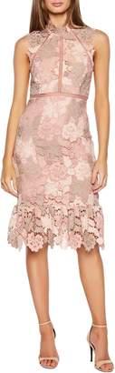 Bardot Dani Lace Sheath Dress
