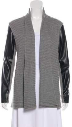 DKNY Open Front Knit Cardigan
