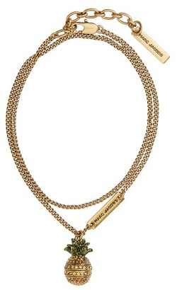 Women's Marc By Marc Jacobs Tropical Charm Necklace $80 thestylecure.com