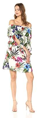 Parker Women's Alexis Off The Shoulder 3/4 Sleeve Dress