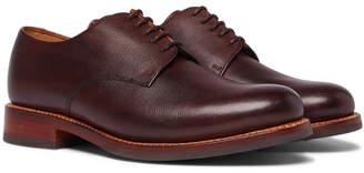 Grenson Curt Textured-Leather Derby Shoes
