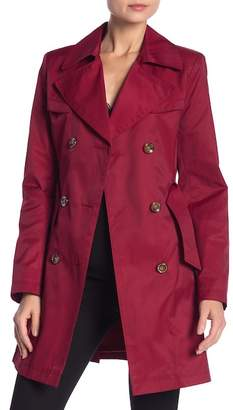 Via Spiga Double Belted Trench Coat