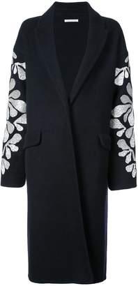 Oscar de la Renta sequin-embroidered cardigan