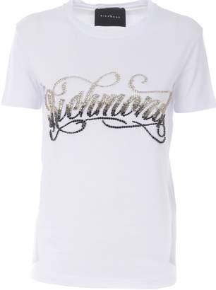Richmond Embellished Logo T-shirt