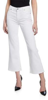 AG Jeans Quinne Crop Mini Flare Jeans
