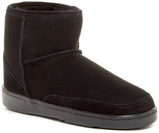 Minnetonka Genuine Sheepskin Ankle High Pug Boot (Women) $123.95 thestylecure.com