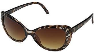 Steve Madden Women's Tiffannie SM1623 Polarized Cateye Sunglasses