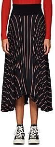 A.L.C. Women's Henry Striped Asymmetric Skirt - Navy