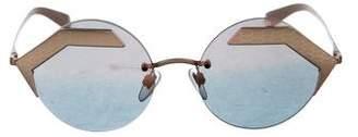 Bvlgari Serpenteyes Mirrored Sunglasses