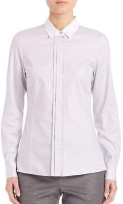HUGO BOSS Blurred Focus Point Collar Shirt